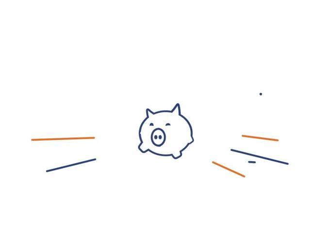 PGNiG ze świnką-skarbonką reklamuja pakiet PiG
