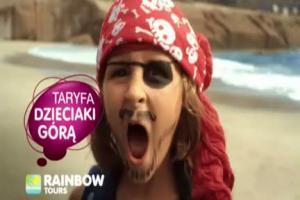 Dzieciaki gorą - reklama Rainbow Tours