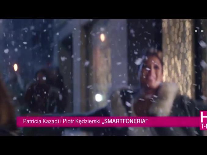 Patricia Kazadi i Piotr Kędzierski w bożonarodzeniowym spocie T-Mobile