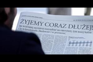 Młody Bóg na emeryturze... - reklama Prudential Polska