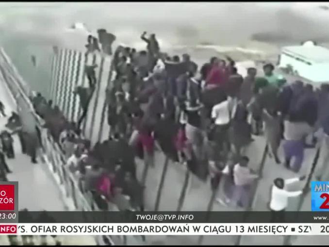 """Antyimigrancki materiał w """"Minęła dwudziesta"""" w TVP Info"""