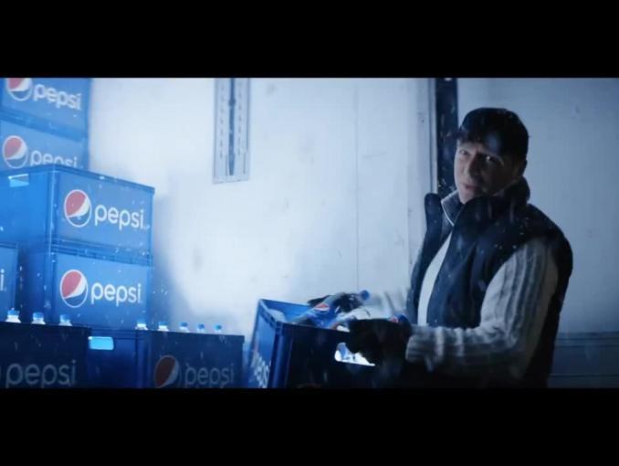 """Zimowe """"wyzwanie smaku"""" reklamuje Pepsi"""