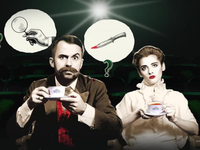 Prawdziwa dama i dżentelmen w reklamach Ahmad Tea London