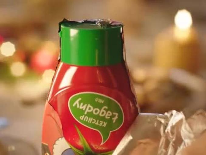 """Mikołaj musi być w Święta"" - reklama ketchupu Kotlin"