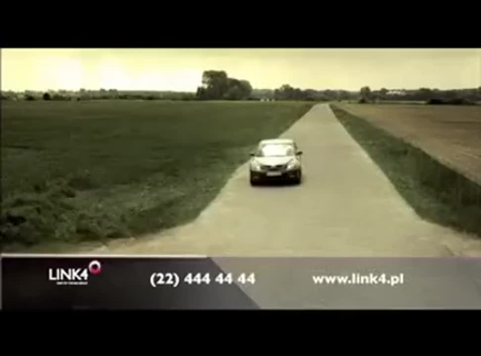 Link4 - reklama OC i AC z GPS