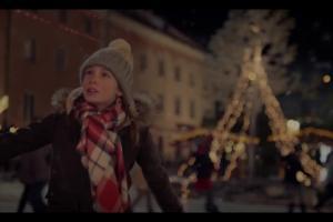 Zaprzęg Świętego Mikołaja w bożonarodzeniowej kampanii Biedronki