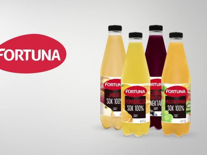 Kasia Kowalska reklamuje soki i nektary Fortuna