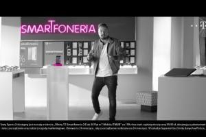 Smartfoneria w T-Mobile - spot z Piotrem Kędzierskim