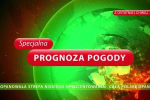 Beata Fido jako prezenterka pogody reklamuje pożyczkę w Kasie Stefczyka