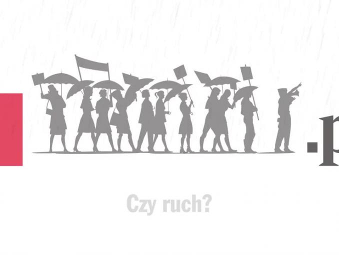"""Foch czy ruch?"" - reklama Wyborcza.pl"