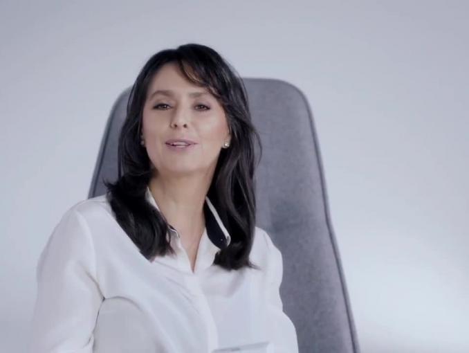 Anna Korcz reklamuje Climea Forte
