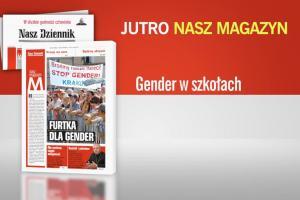 """""""Nasz Dziennik"""": spot ostrzegający przed gender i homoseksualizmem w szkołach"""