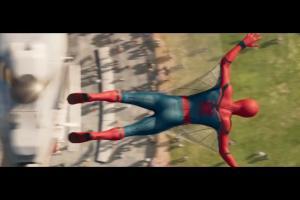 Spiderman z Szymonem Majewskim w spocie Plus