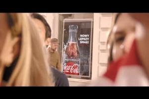 Robert Lewandowski i kibice w kampanii Cola-Cola Zero Cukru