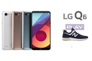 LG Q6 z butami New Balance promowany w sieci Play