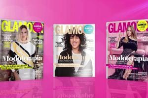 """Odświeżony """"Glamour"""" z Joanną Jędrzejczyk, Natalią Nykiel i Klaudią Halz na okładce - reklama"""