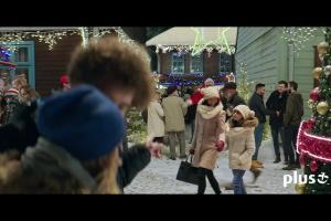 Szymon Majewski jako podwójny Święty Mikołaj reklamuje Plus na Kartę