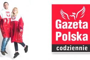 """""""Gazeta Polska Codziennie"""" z biało-czerwoną peleryną"""
