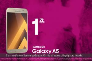 """""""Teraz możesz!"""" promuje Samsung Galaxy A5 w T-Mobile"""