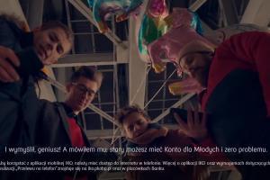 Maciej Musiał reklamuje Konto dla Młodych w PKO BP