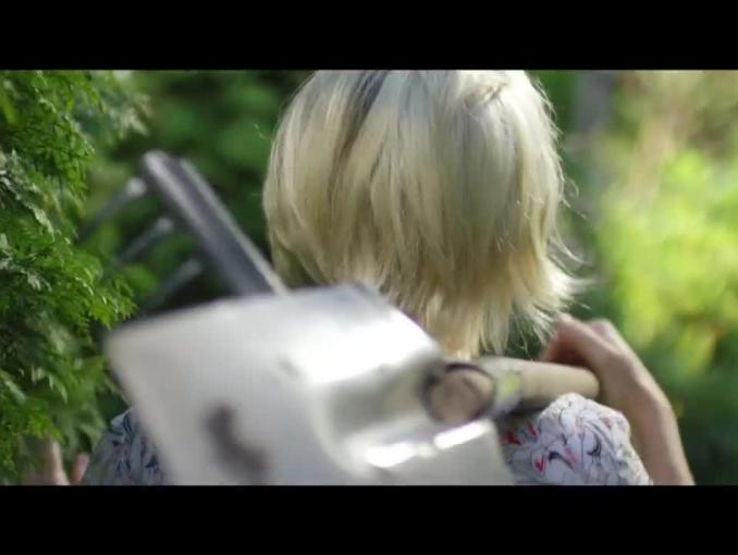 Maja Popielarska ogrodowym bohaterem domu w spocie Leroy Merlin