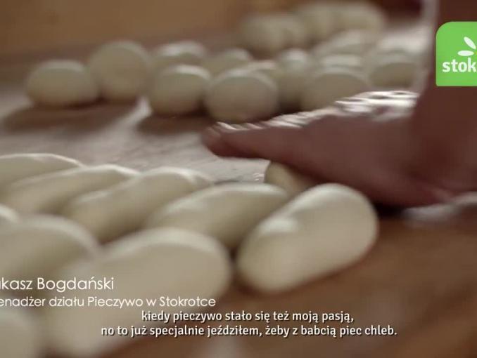 """""""Pieczywo ze świeżego ciasta prosto z pieca"""" - kampania sieci Stokrotka"""