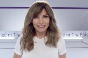 Agnieszka Dygant w piłkarskiej reklamie Play