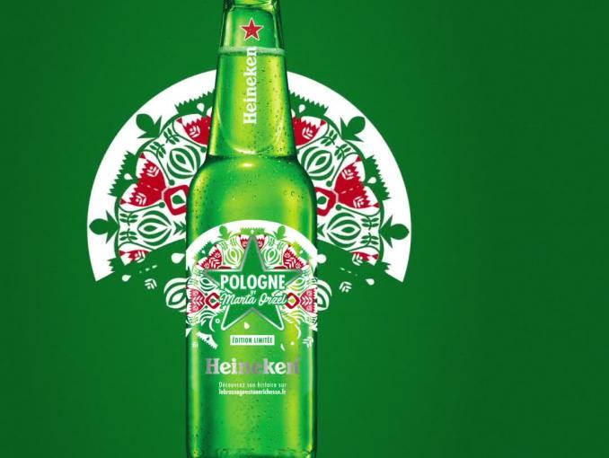 Polska butelka w międzynarodowym projekcie Heinekena