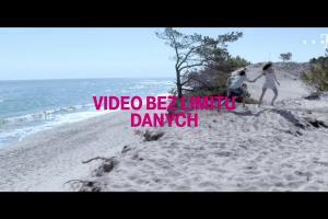 Dorota Wellman reklamuje video bez limitu danych w T-Mobile na kartę