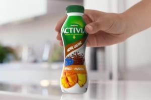 Activia - nowości z siemieniem lnianym