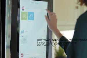 Rodzinnw życie promuje lodówki Samsung Family Hub
