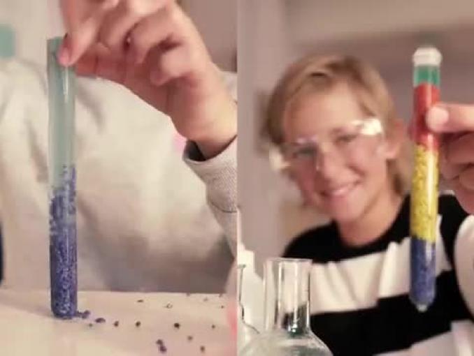 Barbara Kurdej-Szatan w szkolnej reklamie New Balance