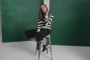 Zuzanna Bijoch w kampanii butów Wojas