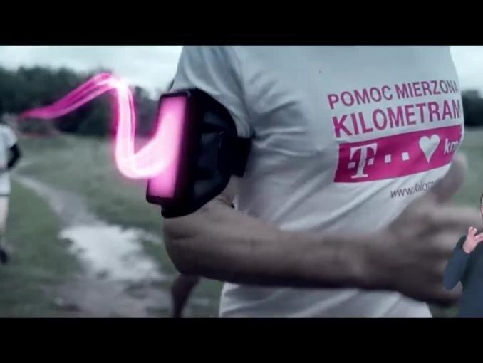 "Robert Korzeniowski promuje ""Pomoc mierzoną kilometrami"" od T-Mobile"