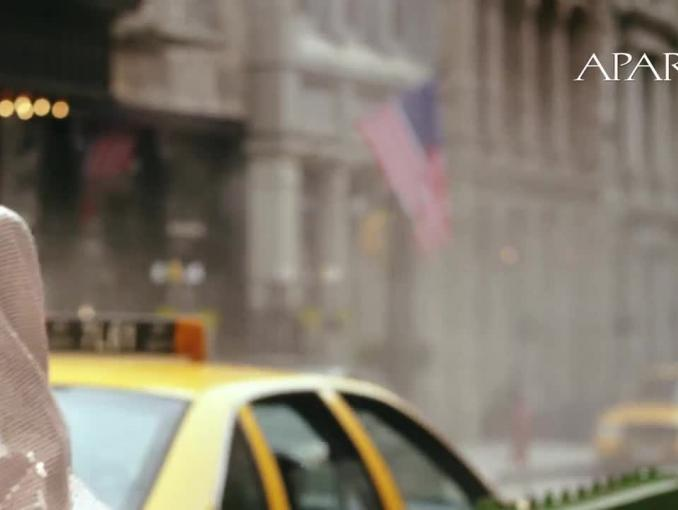 Katarzyna Sokołowska w Nowym Jorku reklamuje Apart