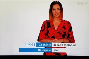 Sylwia Dekiert spikerką TVP