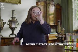"""""""Drunk History - Pół litra historii 2"""" od 5 listopada w Comedy Central. Emisja 4 razy w tygodniu (wideo 2)"""