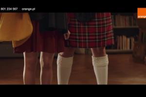 Chłopak ze Szkocji w świątecznej reklamie Orange Love