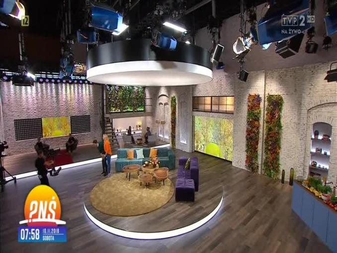 """""""Pytanie na śniadanie"""" w TVP2 - nowe studio"""