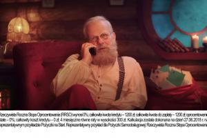 Provident świątecznie reklamuje Pożyczkę na Start