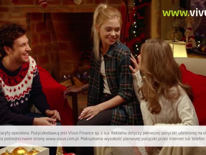 Mr Hajs śpiewa w bożonarodzeniowym spocie Vivus.pl