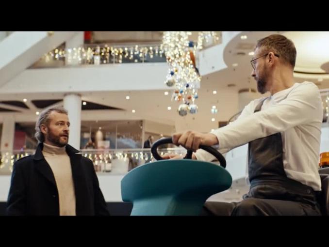 Mutiplikacja Szymona Majewskiego w reklamie Plusa