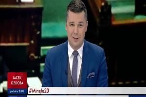 """Rockowy przerywnik w """"Minęła 20"""" w TVP Info"""