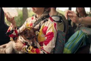 Tymbark Mus 100% - reklama w podróży