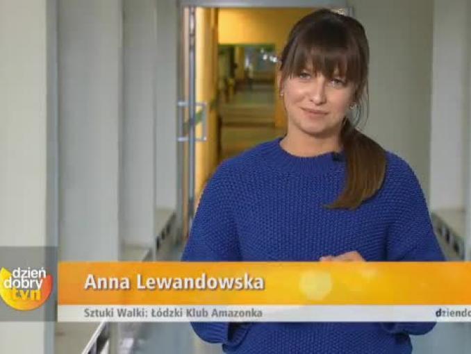 "Anna Lewandowska reporterką ""Dzień dobry TVN"""