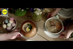 Lidl reklamuje promocje na Wielkanoc