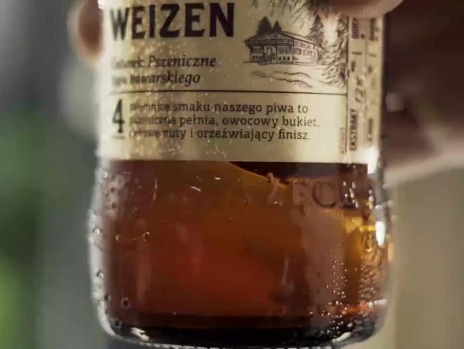"""""""Spotkanie z dobrym smakiem"""" w spocie piwa Książęce Weizen"""