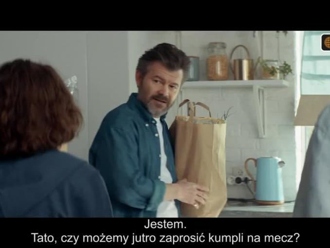 Jacek Braciak reklamuje HBO, Eleven Sports i IPTV w Cyfrowym Polsacie