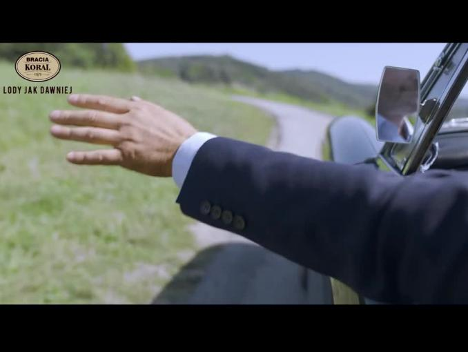 Artur Żmijewski w reklamie lodów Bracia Koral