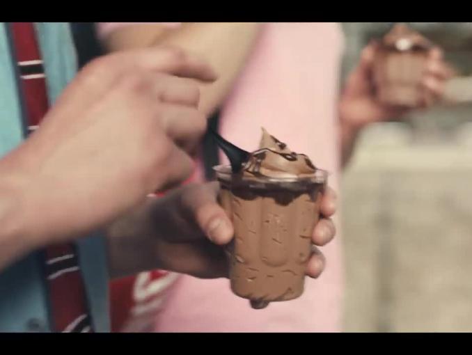 McDonald's reklamuje lody czekoladowe